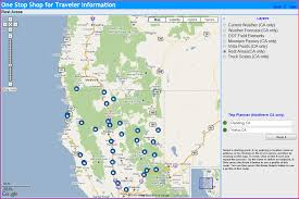 Amtrak Stops Map by California Rest Stops Map California Map