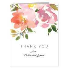 thank you cards wedding wedding thank you cards by basic invite