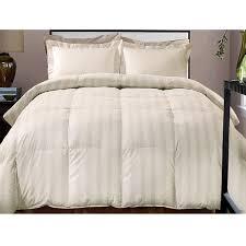 hotel grand damask stripe 800 thread count cotton rich down