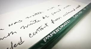 paper mate earth write pencils pencils year of letters i hope to hear that you will make this right reed sandridge p s this letter was written with a paper mate earth write 2 pencil