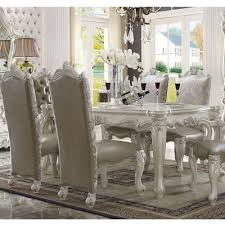 Acme Dining Room Furniture Dining Room Dining Room Sets Versailles 61140 7 Pc Dining Set At