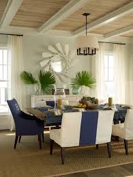 Navy Blue Dining Room Dining Room Contemporary With Wooden Dining - Navy and white dining room