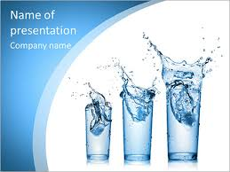 Water Powerpoint Templates by Glass Of Water Powerpoint Template Backgrounds Id 0000006511