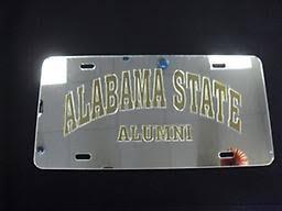 of alabama alumni car tag alabama state car tag