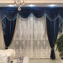 Blue Velvet Curtains Buy Exclusive Curtains And Get Free Shipping On Aliexpress Com