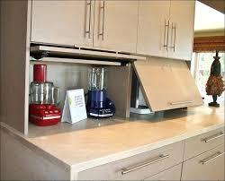 kitchen appliance ideas appliance garage kitchen appliance garage cabinet kitchen garage to