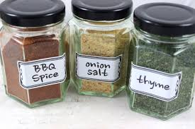 spice jar labels funky style spice labels herb labels kitchen