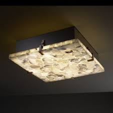 fresh square ceiling light fixture 76 in stainless steel ceiling