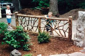 Fencing Ideas For Small Gardens Rustic Fence Ideas For A Small Yard