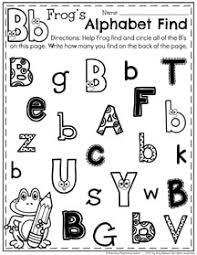 letter recognition worksheets planning playtime