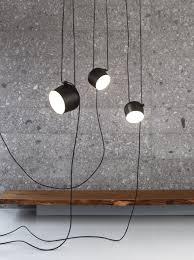 flos aim small dimmer plug black pendant u2013 london lighting