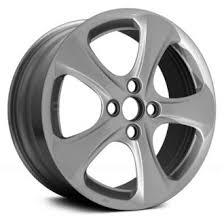 rims for hyundai accent 2008 hyundai accent replacement factory wheels rims carid com