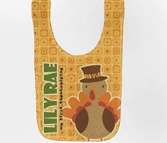 thanksgiving baby bib personalized turkey custom infant bibs