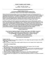 Chronological Order Resume Template Global Order Fulfillment Officer Resume Template Premium Resume