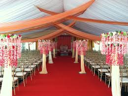 Wedding Tent Decorations Fabric Draped Down Aisle Click On The Following Links To Jump