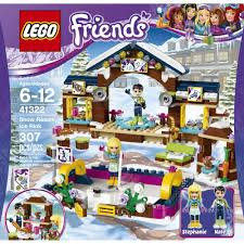 lego friends snow resort ice rink 41322 walmart com