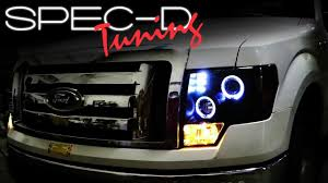 2012 ford f150 projector headlights specdtuning installation 2009 and up ford f150 projector