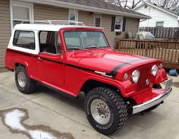 jeep commando custom driver restoration 1967 jeep commando bring a trailer