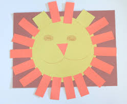 Shapes Theme The Letter L And The Number 1 In Preschool Lion