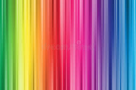 Rainbow Curtain Colorful Abstract Rainbow Curtain Background Vintage Style Stock