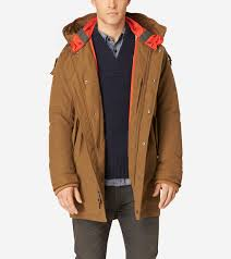 military oxford parka in camel men s outerwear cole haan