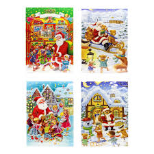 chocolate advent calendar 2017 by muller muller 4 packs