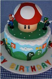 mario brothers cake is a great birthday cake wiinoob
