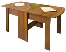 Wood Folding Dining Table Valuable Design Collapsible Dining Table Amazing Decoration