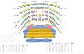 National Theatre Floor Plan Seating Plan 3d Plánky Divadel Pinterest