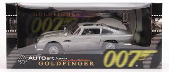old aston martin james bond james bond autoart a good james bond 007 goldfinger 1 18 scale