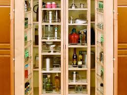 Kitchen Spice Storage Ideas Kitchen 9 Nice White Double Swing Door Pantry Cabinet And
