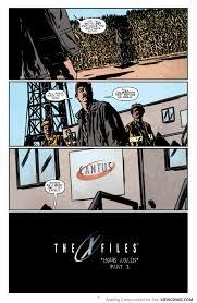 Home X Files by Read Comic The X Files U2013 Season The X Files U2013 Season 11 002