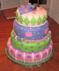 photo baby shower diaper cake image