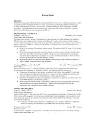 Occupational Health And Safety Resume Examples by 16 Fields Related To Document Controller Controller Resume