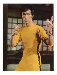 bruce yellow jumpsuit way of the bruce photo 28364039 fanpop legends