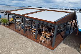 retractable awnings and exterior screens ke durasol awnings
