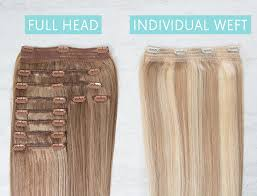 how much are hair extensions the difference between sets and individual wefts hair