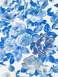 Blue Flower Backgrounds - best 25 blue floral wallpaper ideas on pinterest floral