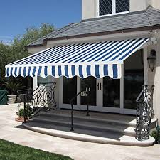 Retractable Waterproof Awnings Amazon Com Best Choice Products Patio Manual Patio 8 2 U0027x6 5