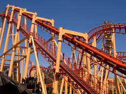 San Diego Six Flags Superman Ultimate Flight Is A Steel Premier Rides Roller Coaster