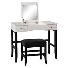 White Desk And Chair Bedroom Vanity Tables Target