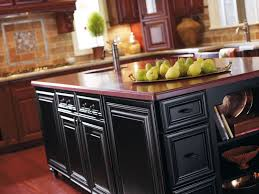 this traditional style kitchen featuring cherry wood omega