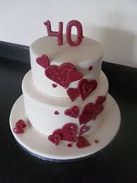 ruby wedding cakes 22 best ruby anniversary cake ideas images on cake