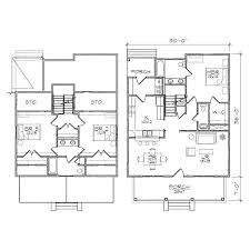 brookestone iii bungalow floor plan tightlines designs