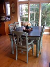 dining room creative painting dining room table with chalk paint
