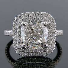 Cushion Cut Halo Diamond Engagement Ring In Platinum All Products Platinum Plus Designs Manufacturers Of Antique