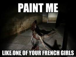Amnesia Meme - paint me like one of your french girls amnesia sensual monster