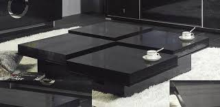 modern black end table outstanding crocodile black contemporary coffee table lounge