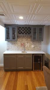building a bar with kitchen cabinets shaker gray bar cabinets kitchen u0026 bathroom cabinets order a