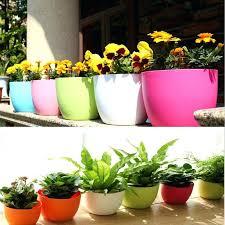 self watering indoor planters self watering planters vertical garden balcony decorations mini